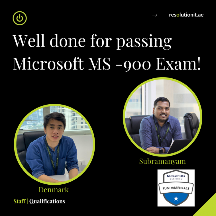 Microsoft MS-900 Certified Dubai