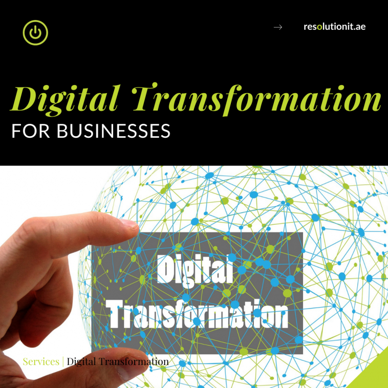 Digital Transformation for your business in UAE