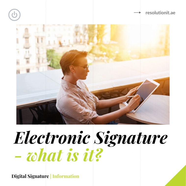 What is an Electronic Signature?
