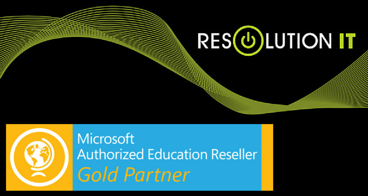 Resolution IT becomes a Gold Microsoft Authorized Education Reseller