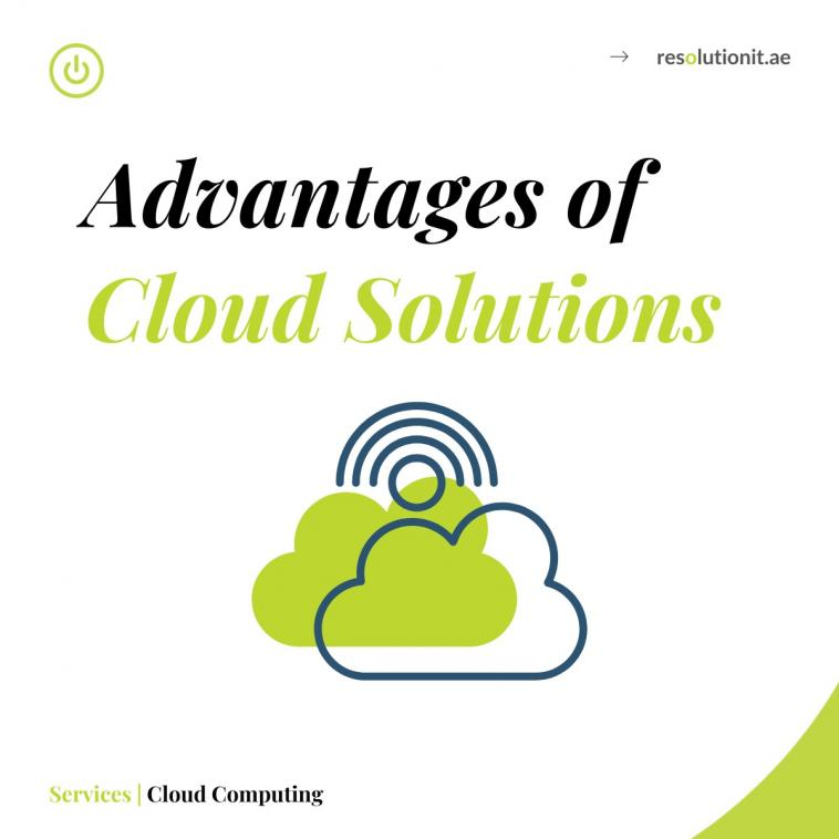 Advantages of Cloud Solutions for Small Businesses.
