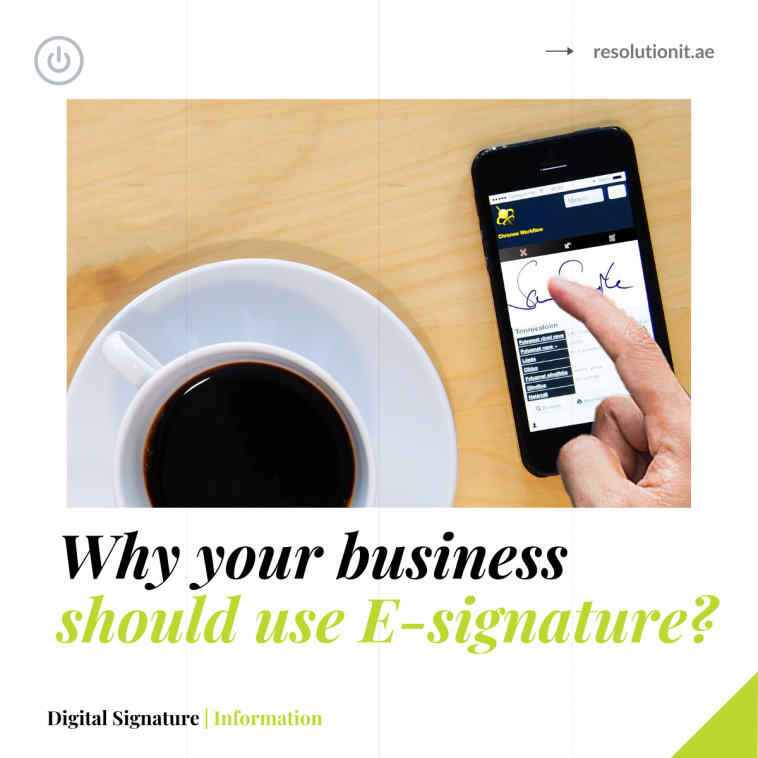 5 Reasons why E-signatures are vital for your business