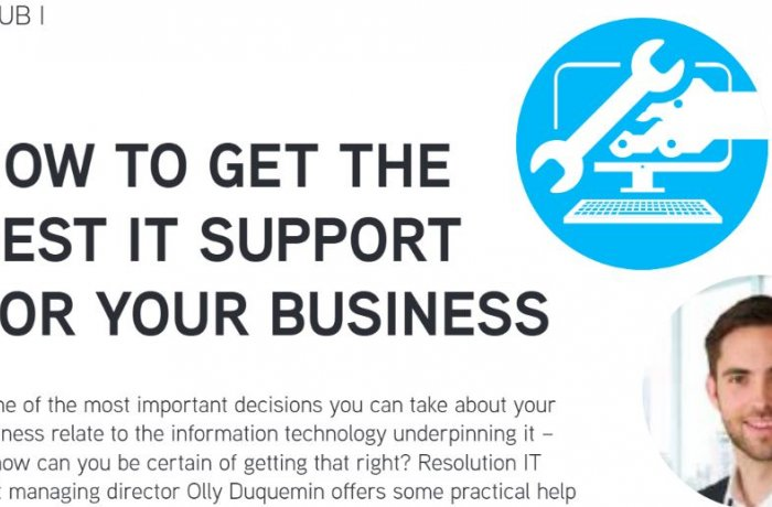 How to get the best IT support for your business