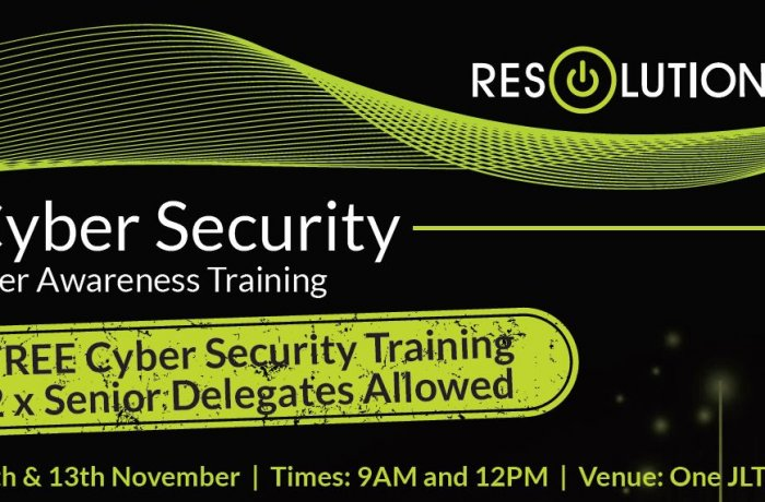 Free cyber security user awareness training